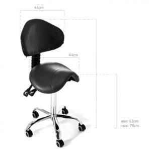 Tattoo Chair - Wave backrest