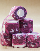 Tube bandage Pink Camo 50mm