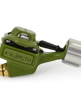 Inkjecta Flite Nano Titan Tattoo Machine Olive Green