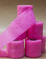 Tube bandage pink 25mm