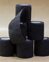 Tube bandage black 50mm