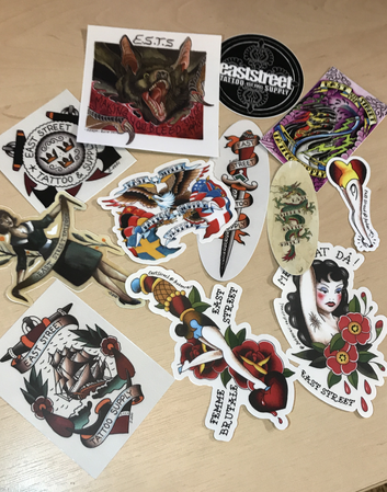 Stickers 13pcs