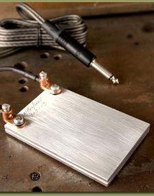 Al Brodeur Foot Switch Aluminum