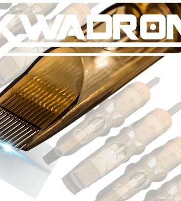 14 Round Shader Kwadron Cartridges 20pcs