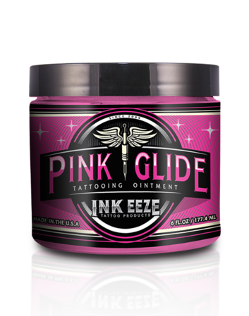 Ink Eeze Pink Glide Tattoo Ointment