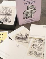 Russian Criminal Tattoos postcard