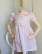 Ljusrosa klänning