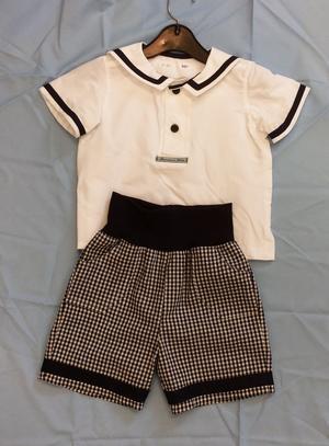 Sjömanskjorta och kortbyxor