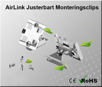 AirLink Justerbart Monteringsclips