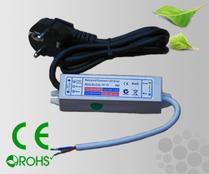 Leddriver/Nätdel 230VAC/12VDC 10W IP67