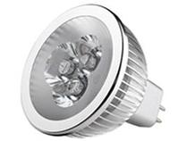 LED Spotlight 3x1W MR16 Varmvit