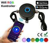 Wifi RGB Kontroller Deck/Floorlights & Trädgårdslampor