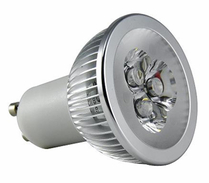 LED Spotlight 3x1W GU10 Varmvit