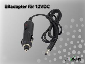 Biladapter för 12VDC