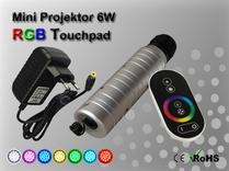 Fiberoptisk Ledprojektor 6W Flerfärgad RGB