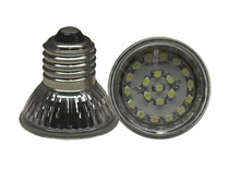 LED Spotlight SMD3528 E27 Varmvit