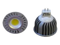 LED Spotlight COB 5W  GU5,3 Varmvit