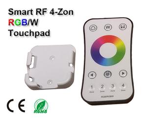 Wifi 2,4GHz RGB/RGBW Touchpad 4-Zoner
