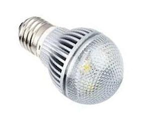 Ledlampa E27 3x1W Varmvit