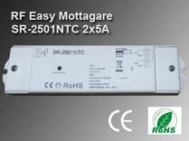 RF Easy Mottagare SR-2501TC 12-36VDC 2x5A
