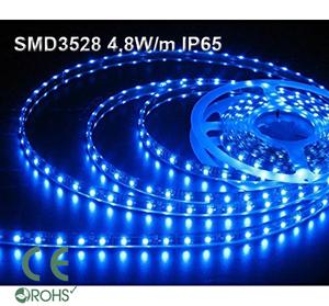 Ledtejp SMD3528 4,8W/m Blå Ljusfärg