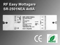 RF Easy Mottagare SR-2501NEA 12-36VDC 4x8A