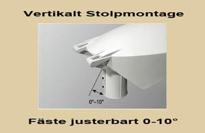 Led Stolparmatur HighPower 30W Vinkl.bart Stolpfäste