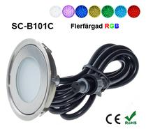 Deck/Floorlight Lampa 0,7W Ultra Thin RGB