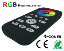 SR-2810RGB Programmerbar Fjärrkontroll 4-zoner