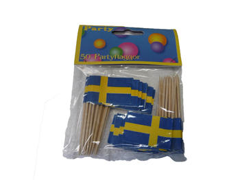 Party flaggor 50 pack