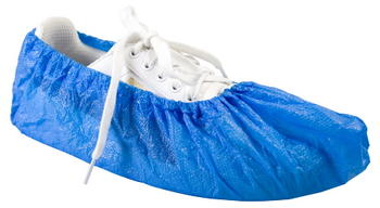 Skoskydd 100st/fp Worksafe PE shoe cover Blå One-size