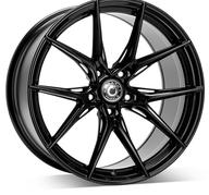 "19"" WRATH WHEELS WFX - GLOSSY BLACK – FLOW FORMING"
