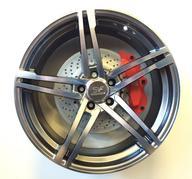 """4 st. 20"""" SVF Dakar - Hyper black - 5x114,3 - 8,5x20 - ET45 - Nav 73,1"""