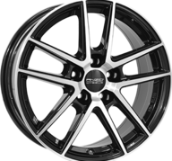 "17"" ANZIO SPLIT - Gloss Black / Polished 7,5x17 - ET45"