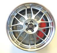 "4 st. 19"" SVF Mantorp - Silver polish 5x100 - 8x19 - ET35 - Nav 73,1"