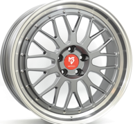 "19"" MB DESIGN LV1 - Anthracite / Polish 8,5x19 - ET33"