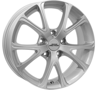 "16"" INTER ACTION PULSAR - Silver 6,5x16 - ET25"