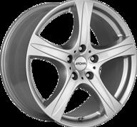 """19"""" RONAL R55 SUV - Crystal Silver 9x19 - ET50"""
