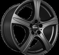 "19"" RONAL R55 SUV - Dull Black 9x19 - ET50"