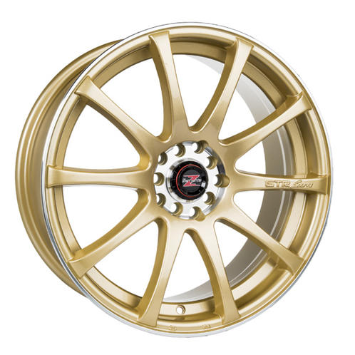"""18"""" Barzetta GTR Gold 5x100/114,3 - 7,5x18 - ET40 - 72,6"""