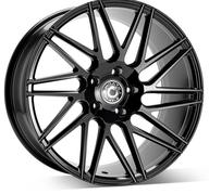 "19"" WRATH WHEELS WF4 - GLOSSY BLACK – FLOW FORMING"