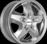 """17"""" RONAL R44 - Crystal Silver 7x17 - ET55"""