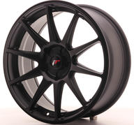 "18"" JAPAN RACING JR11 FLAT BLACK"