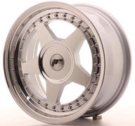 "16"" JAPAN RACING JR6 MACHINED SILVER"