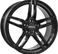 "18"" MONACO GP1 - Glossy Black 8x18 - ET34"