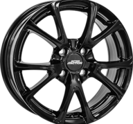 "16"" INTER ACTION PULSAR - Glossy Black 6,5x16 - ET45"