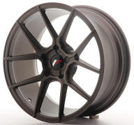 "18"" JAPAN RACING JR30 MATT BRONZE"