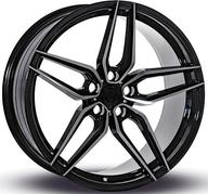 "18"" IMAZ WHEELS FF517 - BLACK POLISH"