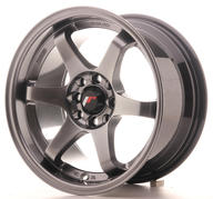 "15"" JAPAN RACING JR3 HYPER BLACK"