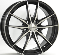"17"" INTER ACTION ZODIAC - Gloss Black / Polished 7x17 - ET38"